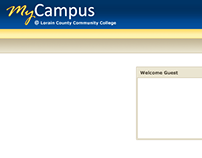 LCCC MyCampus - PeopleSoft Portal Design