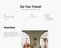 Case Study: Do You Travel