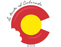 A taste of Colorado - poster