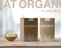 Oatmeal Package Design