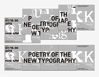 POETRY OF THE NEW TYPOGRAPHY | 系列明信片