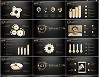 26+ glod annual report chart PowerPoint templates