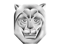 Illustration | Granite Lion