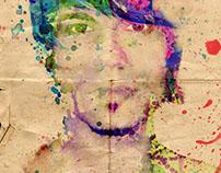 Color self-portrait