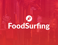 Food Surfing App iOS | Android
