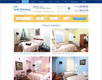 """Сайт отеля """"Life Saint-Petersburg"""""""