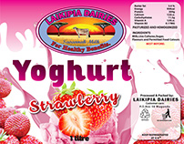 Laikipia Dairies product labels