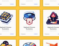 egghead.io Course Illustrations