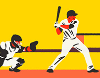 Baseball - Illustration Series