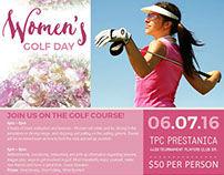 Womens Golf Day Golf & Retail Promotions