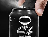 Roasterie Cold Brew and Nitro Coffee Branding