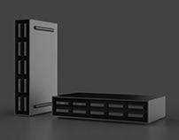 Wifi Box industrial design