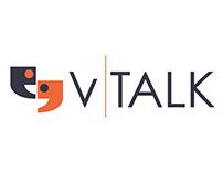 V Talk logo