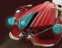 2017 SAIC DESIGN CHALLENGE CONTEST MG 2030 racing car