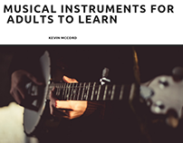 Kevin McCord on Easiest Musical Instruments