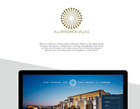 MYKONOS VILLAS COLLECTION BRANDING