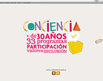 Web Conciencia - Proyecto Universitario