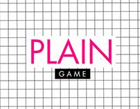 Catalogue Design   Plain Game