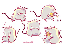 Chubby Mice - Character Design