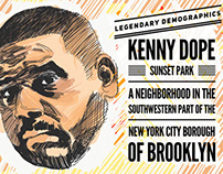 Legendary Demographics: My tribute sketch of Kenny Dope