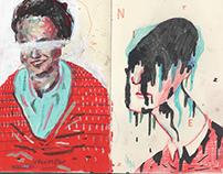 SASHA BOGATOV - moleskine sketchbooks 2012-2015