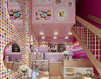 CGI | Sweet & Colourful Ice Cream Parlour