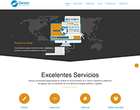 Propuesta Website Dacom Design