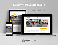 Raschyk Physiotherapie Website