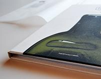 'EVIDENZA TRASPARENTE' glass book