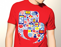 T-shirt Design - U & Me Communication