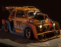 Fiat 500 - Dakar Raid