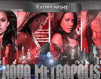 NOVA METROPOLIS -LADIES NIGHT FLYERS 2015