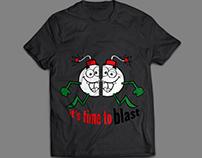 Crazy Cartoon T-shirt