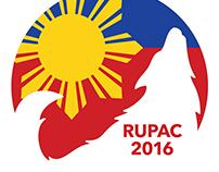 'Rowan University Philippine American Coalition' Logo