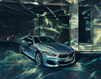 BMW 8 Series and the LightRig