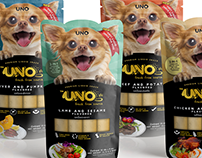 UNO • Liquid Snack Packaging for Dogs