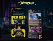 Cyberpunk 2077 UI Concept | Rish Designs