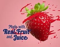 Orange Julius - Triple Play Fruit Smoothie