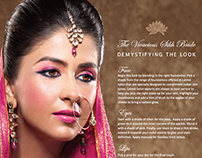 LAKME - Bridal Campaign - Design and Art Direction