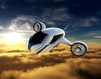 Futuristic Aircraft
