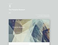 The Porsche Museum - Responsive web redesign