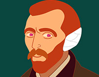 Van Gogh gif animation