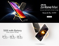 Asus Zenfone Max HTML / Landing Page