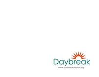 Daybreak Brochure Design