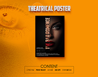 Theatrical Poster Design - PSD File