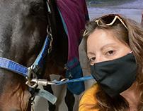 Bricole Reincke   With Her Horses