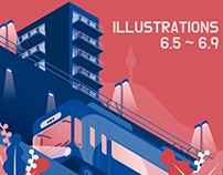 Illustrations collection from June 5th to 9th.
