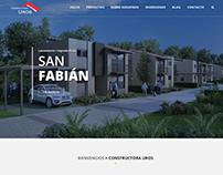 Página de Constructora