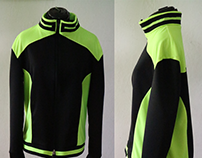 Athletic Jacket Construction