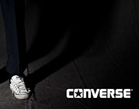 "CONVERSE// AD ""Impossible to leave them behind"""
